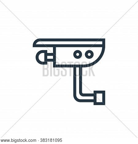 cctv icon isolated on white background from appliances collection. cctv icon trendy and modern cctv