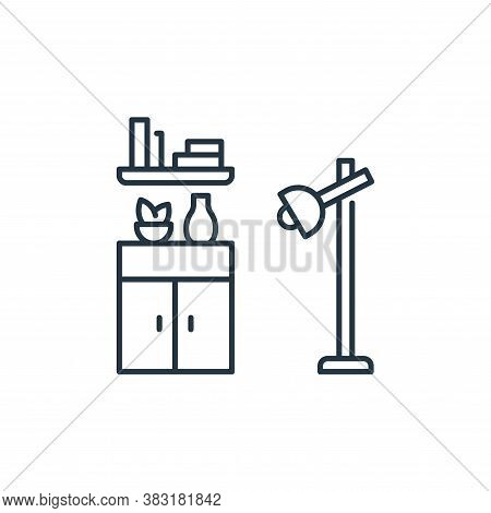interior design icon isolated on white background from interior design collection. interior design i