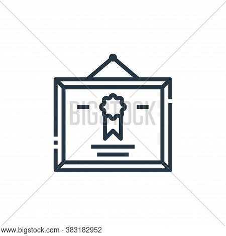 diploma icon isolated on white background from office collection. diploma icon trendy and modern dip