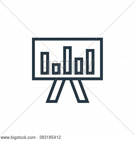 graphic icon isolated on white background from business collection. graphic icon trendy and modern g