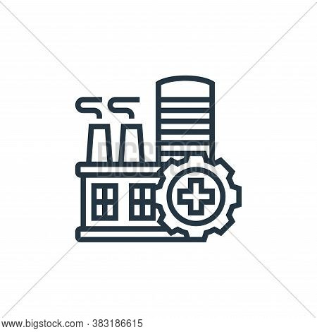 safety icon isolated on white background from industry collection. safety icon trendy and modern saf