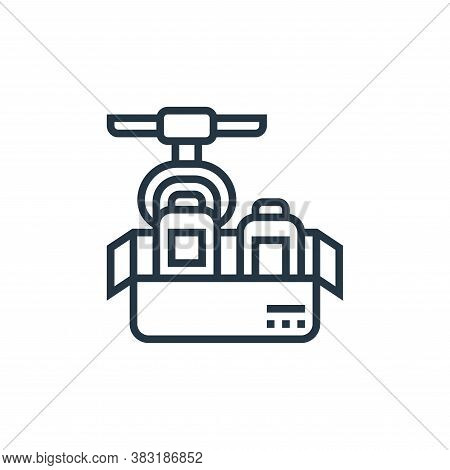 production icon isolated on white background from industry collection. production icon trendy and mo