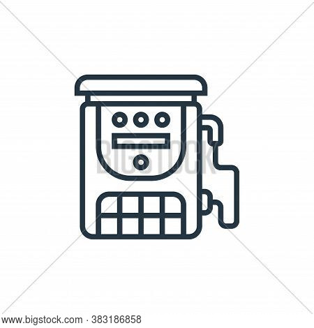 fast charge icon isolated on white background from electric vehicle collection. fast charge icon tre