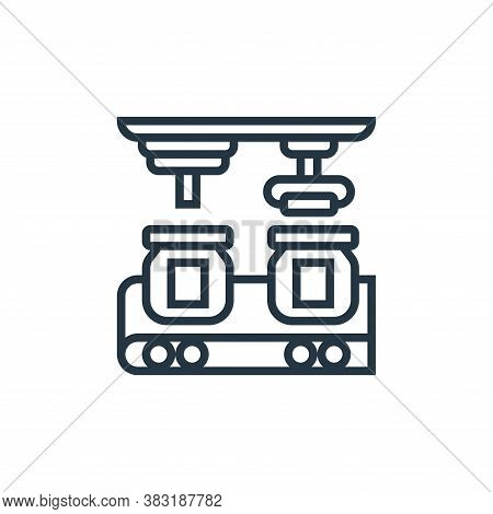 assembly icon isolated on white background from industrial process collection. assembly icon trendy