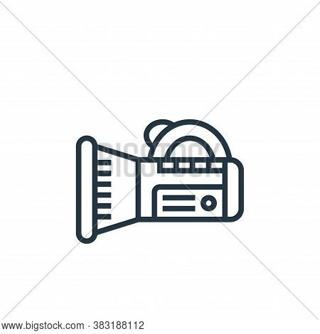flashlight icon isolated on white background from home appliances collection. flashlight icon trendy
