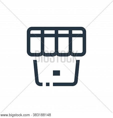 store icon isolated on white background from ecommerce collection. store icon trendy and modern stor