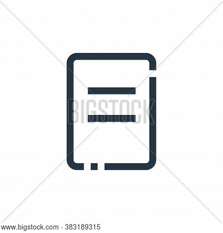 receipt icon isolated on white background from ecommerce collection. receipt icon trendy and modern