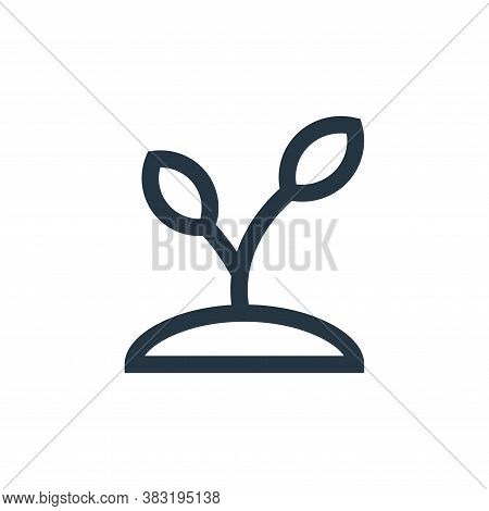 plant icon isolated on white background from nature collection. plant icon trendy and modern plant s