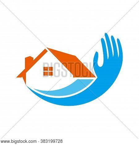 Abstract Residence Home House Logo Icon Concept Graphic Vector Design