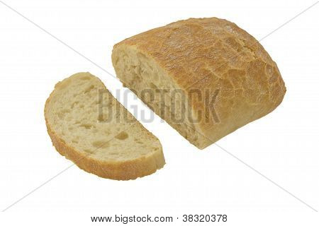 Bread, Isolated On White