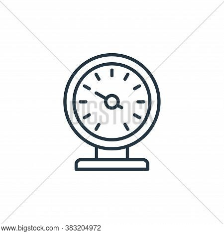 meter icon isolated on white background from oil industry collection. meter icon trendy and modern m