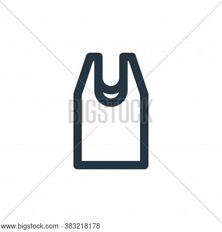 tee shirt icon isolated on white background from fitness collection. tee shirt icon trendy and moder