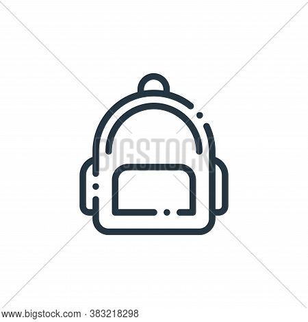 bag icon isolated on white background from travel and adventure collection. bag icon trendy and mode