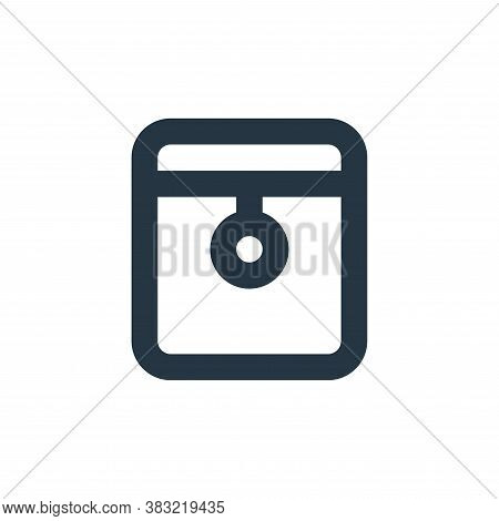 folder icon isolated on white background from email collection. folder icon trendy and modern folder