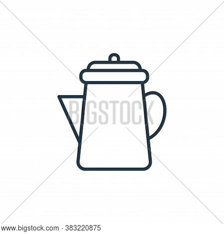pitcher icon isolated on white background from kitchen collection. pitcher icon trendy and modern pi