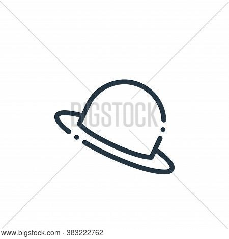 hat icon isolated on white background from travel and adventure collection. hat icon trendy and mode