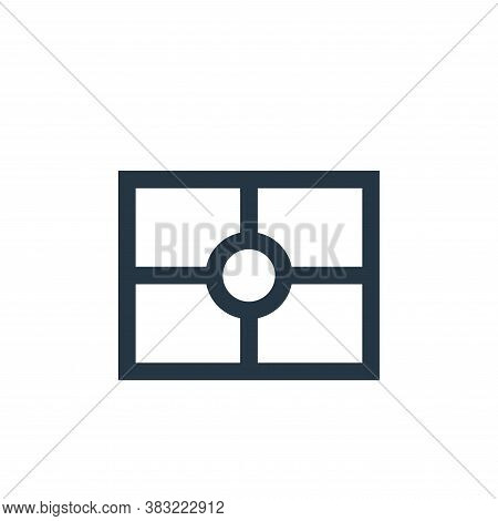 metering icon isolated on white background from photography collection. metering icon trendy and mod
