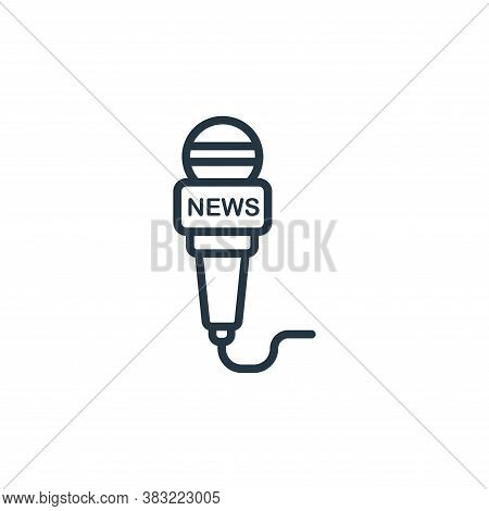 news icon isolated on white background from news and journal collection. news icon trendy and modern