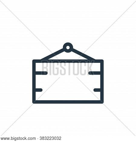 board icon isolated on white background from shopping collection. board icon trendy and modern board