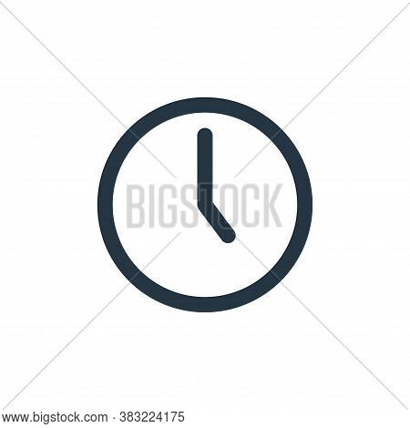 watch icon isolated on white background from fitness collection. watch icon trendy and modern watch