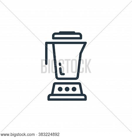 blender icon isolated on white background from kitchen collection. blender icon trendy and modern bl