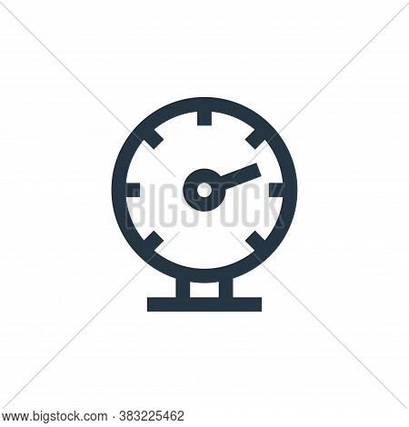 oil gauge icon isolated on white background from industry collection. oil gauge icon trendy and mode