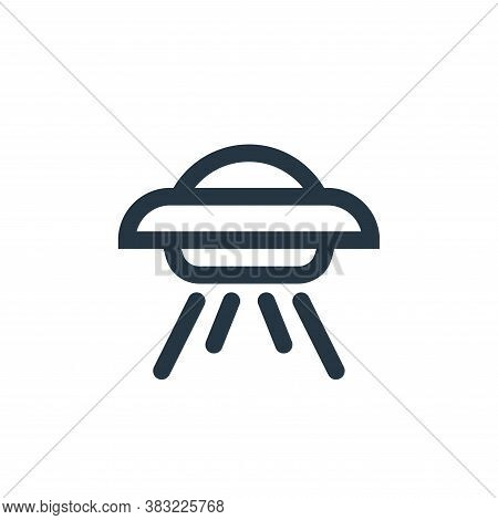 spaceship icon isolated on white background from science collection. spaceship icon trendy and moder