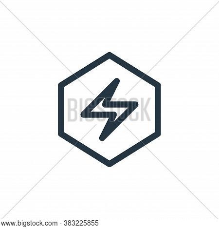 security icon isolated on white background from smartphone ui ux part collection. security icon tren