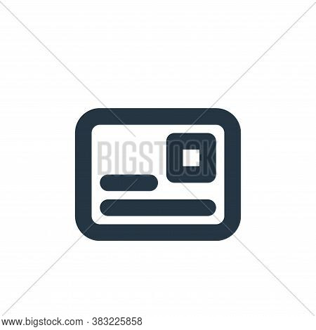 postcard icon isolated on white background from email collection. postcard icon trendy and modern po