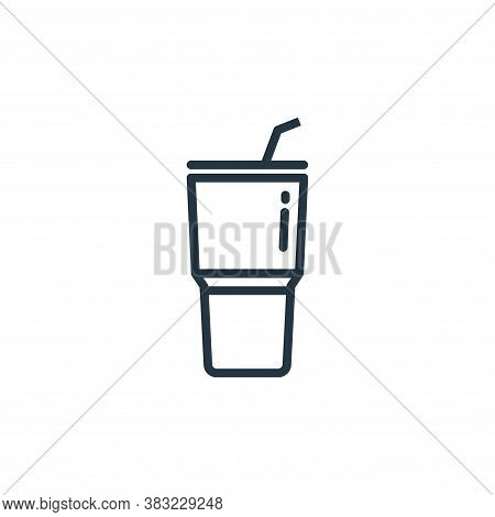 tumbler icon isolated on white background from kitchen collection. tumbler icon trendy and modern tu