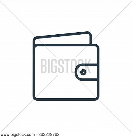 purse icon isolated on white background from shopping and ecomerce collection. purse icon trendy and