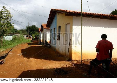 Ilheus, Bahia / Brazil - January 19, 2012: Popular Houses From The Minha Casa Minha Vida Program Are