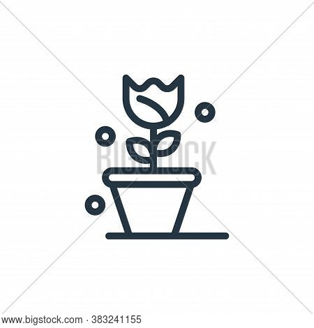 flora icon isolated on white background from spring collection. flora icon trendy and modern flora s