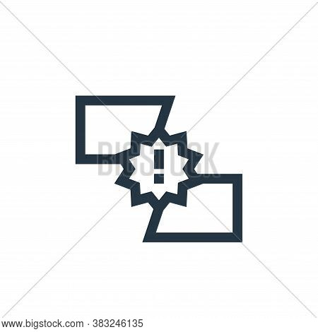 battle icon isolated on white background from esports collection. battle icon trendy and modern batt