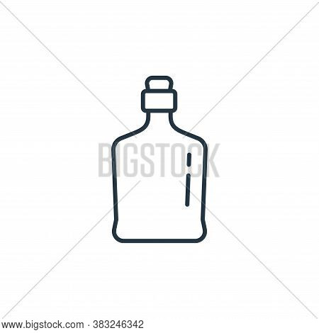 bottle icon isolated on white background from antique collection. bottle icon trendy and modern bott