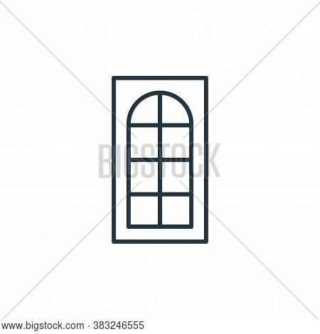 window icon isolated on white background from antique collection. window icon trendy and modern wind