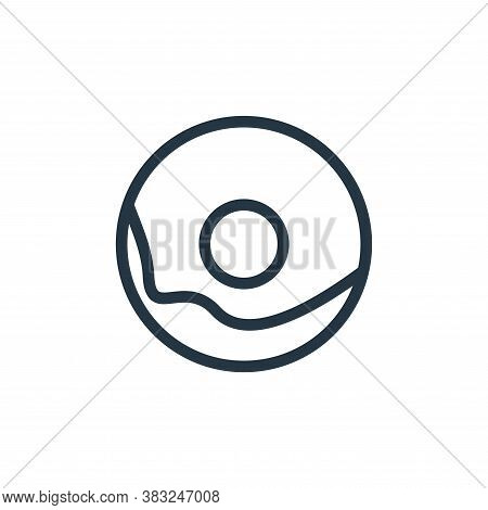 donut icon isolated on white background from food and drinks collection. donut icon trendy and moder