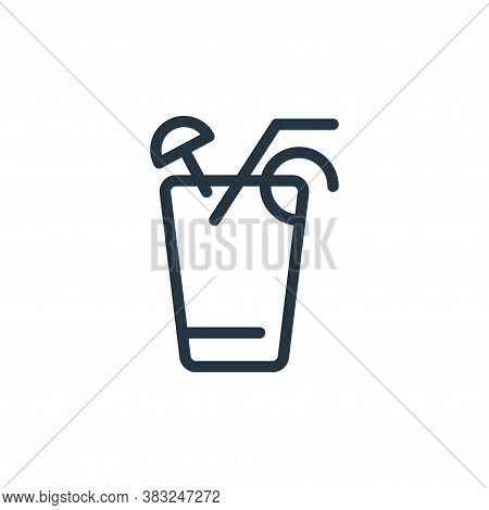 orange juice icon isolated on white background from spring collection. orange juice icon trendy and