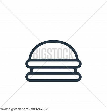 burger icon isolated on white background from food and drinks collection. burger icon trendy and mod
