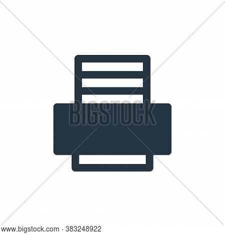printer tool icon isolated on white background from printer and fax collection. printer tool icon tr
