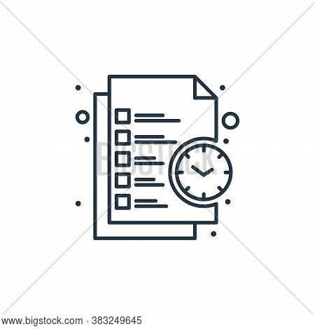 business icon isolated on white background from strategy collection. business icon trendy and modern