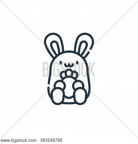 rabbit icon isolated on white background from spring collection. rabbit icon trendy and modern rabbi