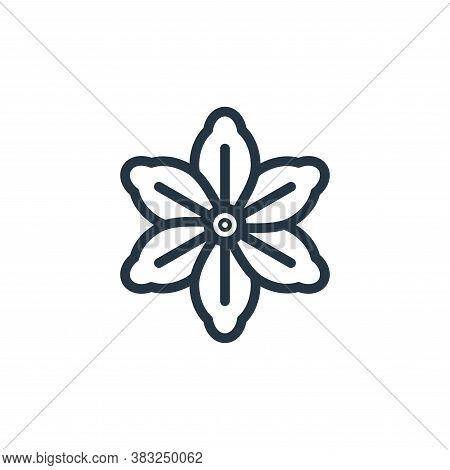 floral design icon isolated on white background from spring collection. floral design icon trendy an