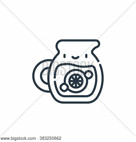 lemonade icon isolated on white background from spring collection. lemonade icon trendy and modern l