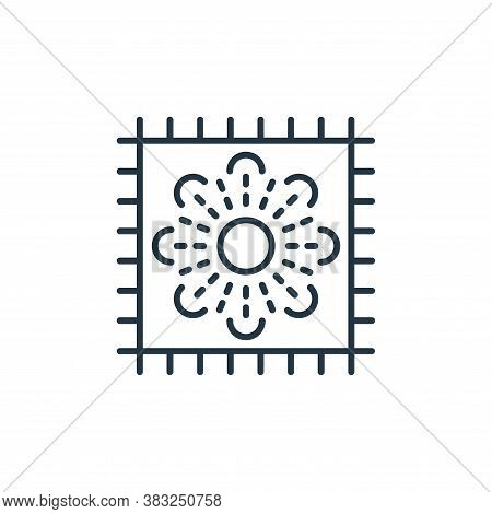 mat icon isolated on white background from antique collection. mat icon trendy and modern mat symbol