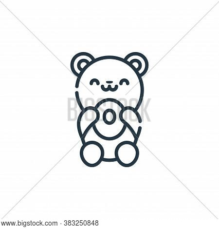 bear icon isolated on white background from spring collection. bear icon trendy and modern bear symb