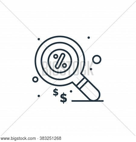 search icon isolated on white background from taxes collection. search icon trendy and modern search