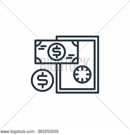 safe box icon isolated on white background from money collection. safe box icon trendy and modern sa