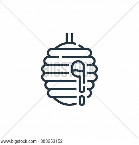 beehive icon isolated on white background from spring collection. beehive icon trendy and modern bee