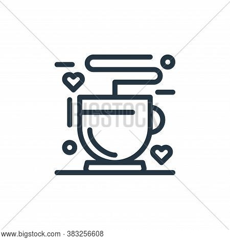 coffee cup icon isolated on white background from women day collection. coffee cup icon trendy and m